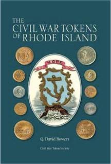 Civil War Tokens of Rhode Island book cover