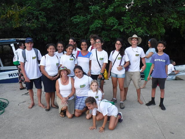 Volunteers and Counselors, Last Day of Camp