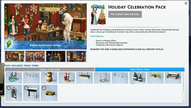 The Sims 4 Novos Conteúdos de Fim de Ano Chegando