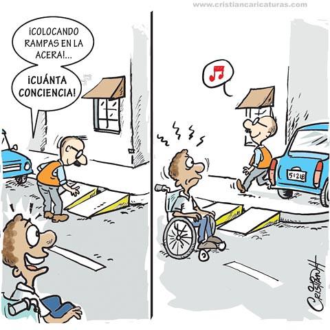 Caricatura conciencia