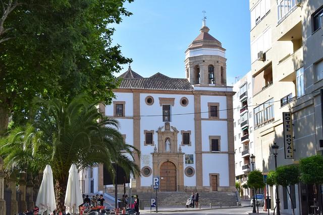 Iglesia de la Merced (Ronda, Andalucía, España, 14-6-2018)
