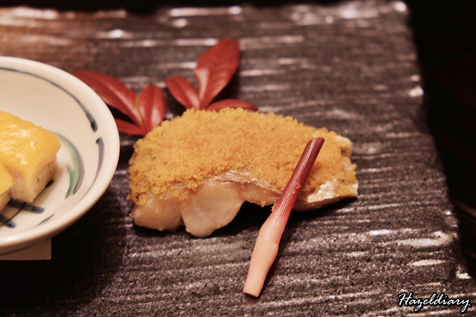 kaiseki soujuan keio plaza hotel tokyo-Fish