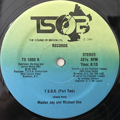 MASTER JAY ANF MICHAEL DEE:T.S.O.B.(LABEL SIDE-B)