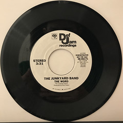 THE JUNKYARD BAND:THE WORD(RECORD SIDE-A)