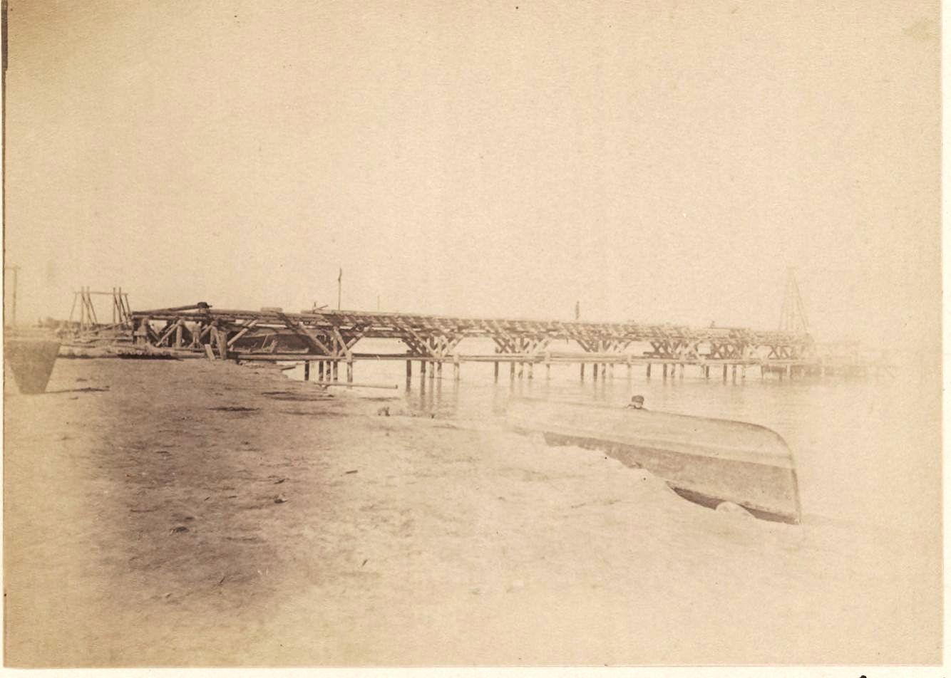 06. Амударья. Мост. Вид сбоку