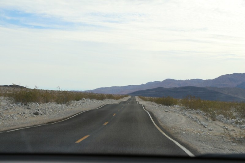Highway 178 in Death Valley has lots of dips that are fun to drive fast and float your stomach