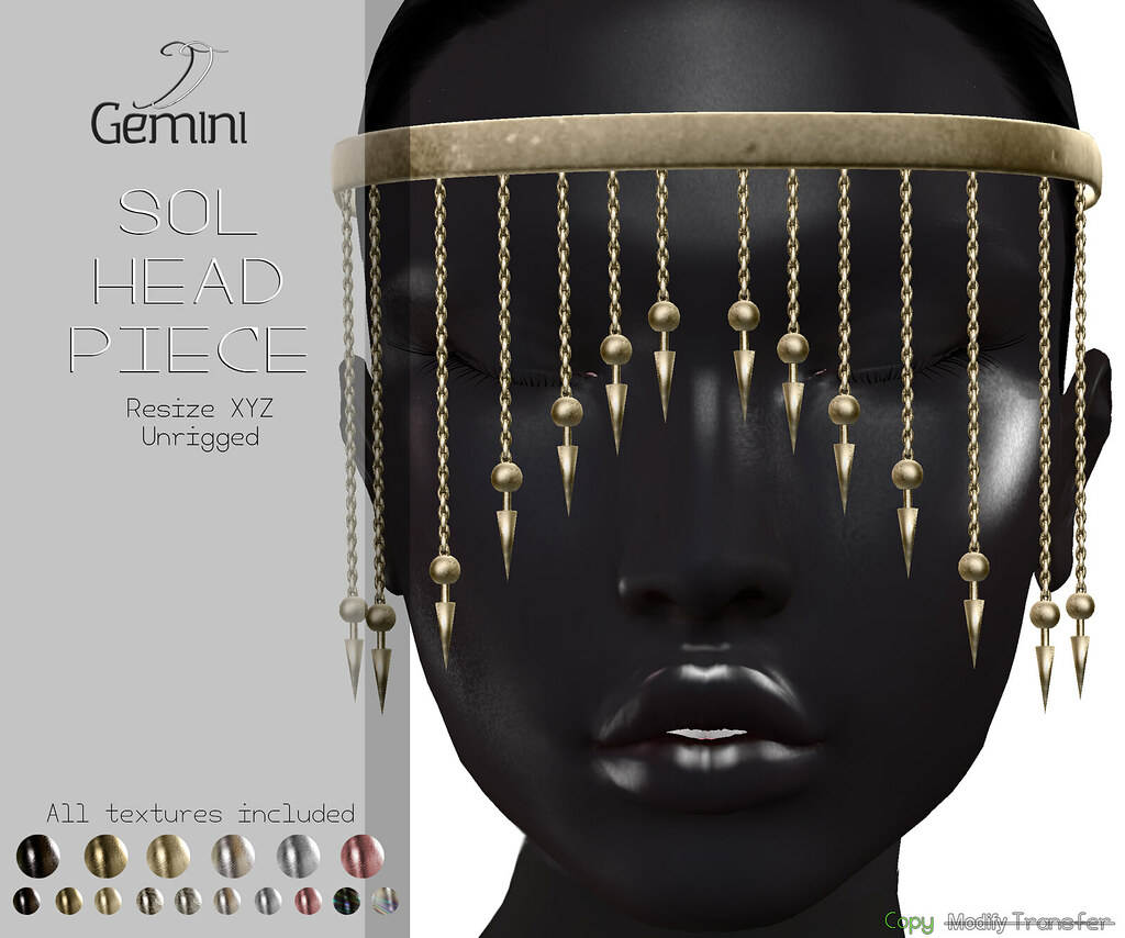 •Gemini -Sol Head Piece- @XXX ORIGINAL EVENT, Jan Round•
