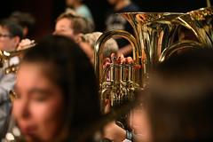 Première représentation de la Classe-Orchestre du collège de Gabarret