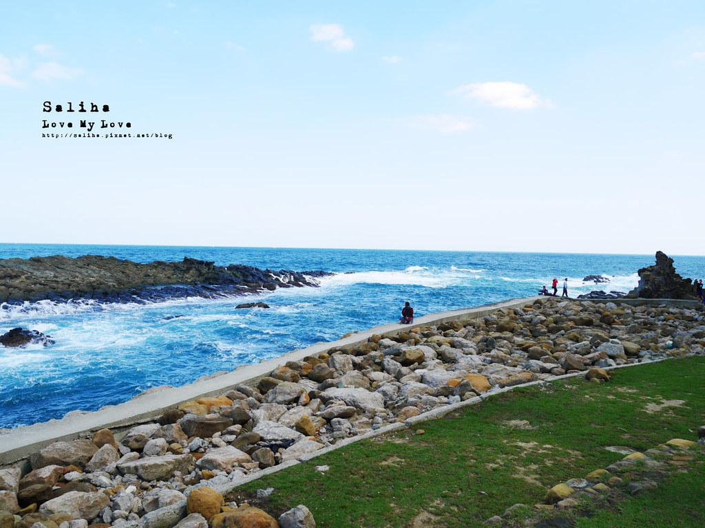 新北瑞芳象鼻岩附近景點一日遊推薦番仔澳酋長岩公園 (4)