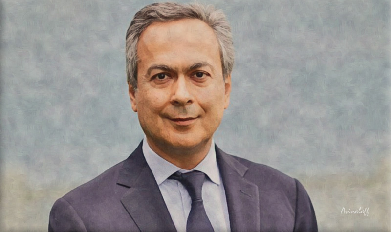 Artwork of Farhad Moshiri by Avinalaff