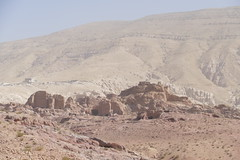 Path to the Royal Tombs in Petra (5)