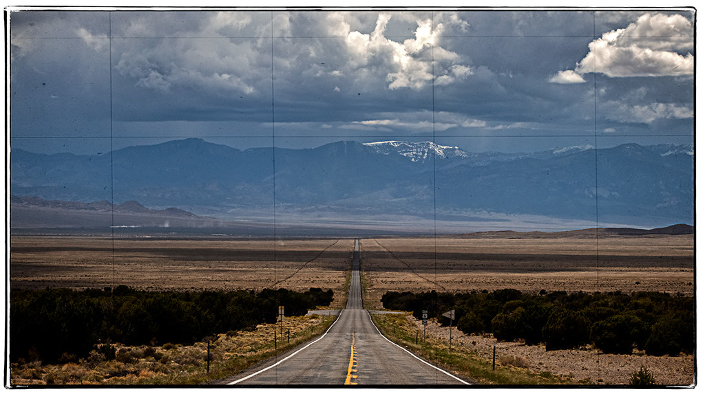 Nevada Route 50: Photo by Denny Wilkins; production by wintersmith