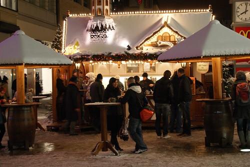heute vor 8 Jahren ...hatten wir Schnee auf dem Leipziger Weihnachtsmarkt.