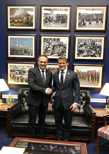06.12.2018 Vizita președintelui Andrian Candu în SUA - prima zi