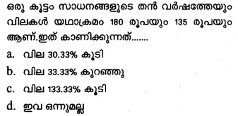 Plus One Economics Previous Year Question Papers and Answers 2018.27