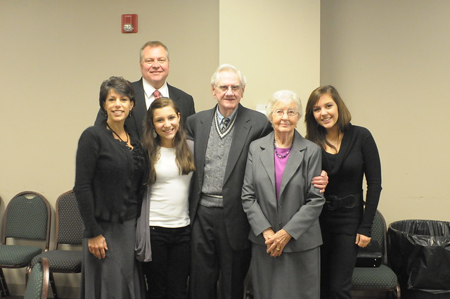 Snellgrove Family at Funeral of H. D. Taylor