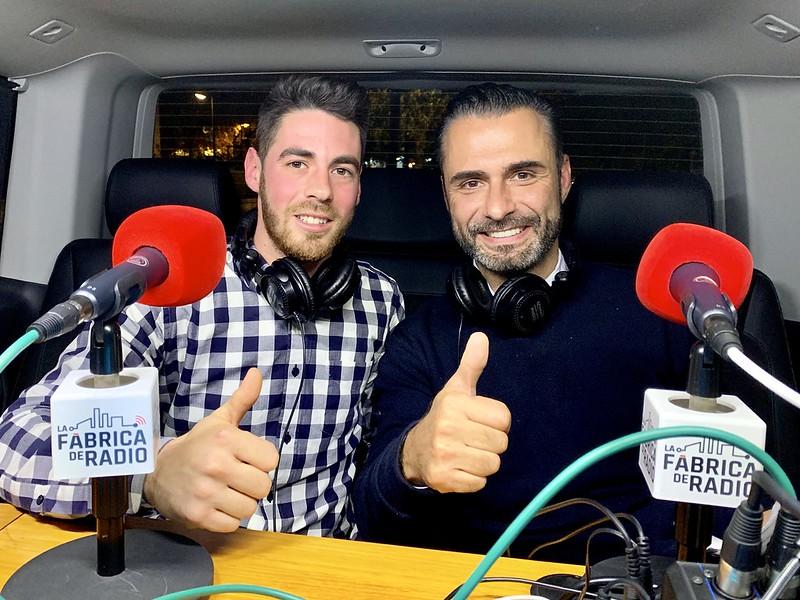 Foto 2018 11 29 Sergio Valls Cafe Madrid Rafa Serra Musicoctel La Fabrica de Radio