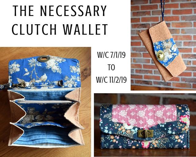 Necessary Clutch Wallet (Class Project Jan19)