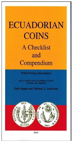 ECUADORIAN COINS book cover