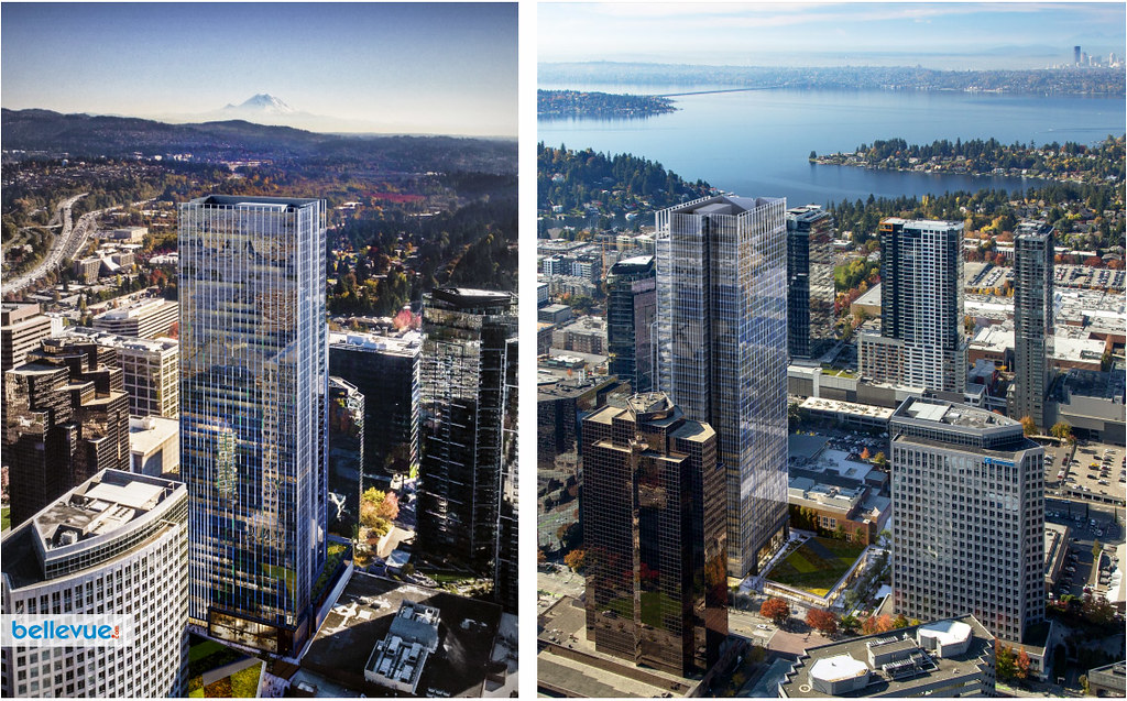 The first 600' tower in downtown Bellevue | Bellevue.com