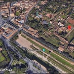 1930 2018 Palatino Emiciclo meridionale dello Stadium, foto de Alvariis By Google Maps a - https://www.flickr.com/people/35155107@N08/