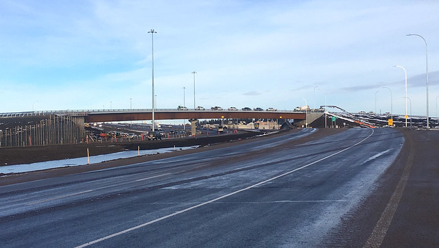 Gaetz Avenue interchange open in Red Deer
