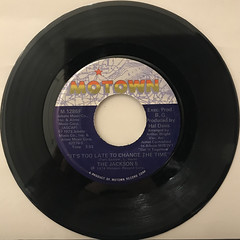 THE JACKSON 5:DANCING MACHINE(RECORD SIDE-B)