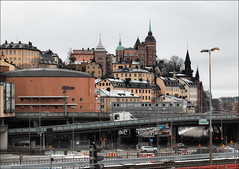 Стокгольм, Швеция, Слюссен