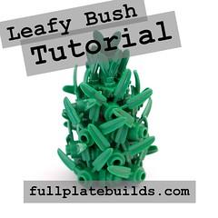 Leafy Bush Tutorial