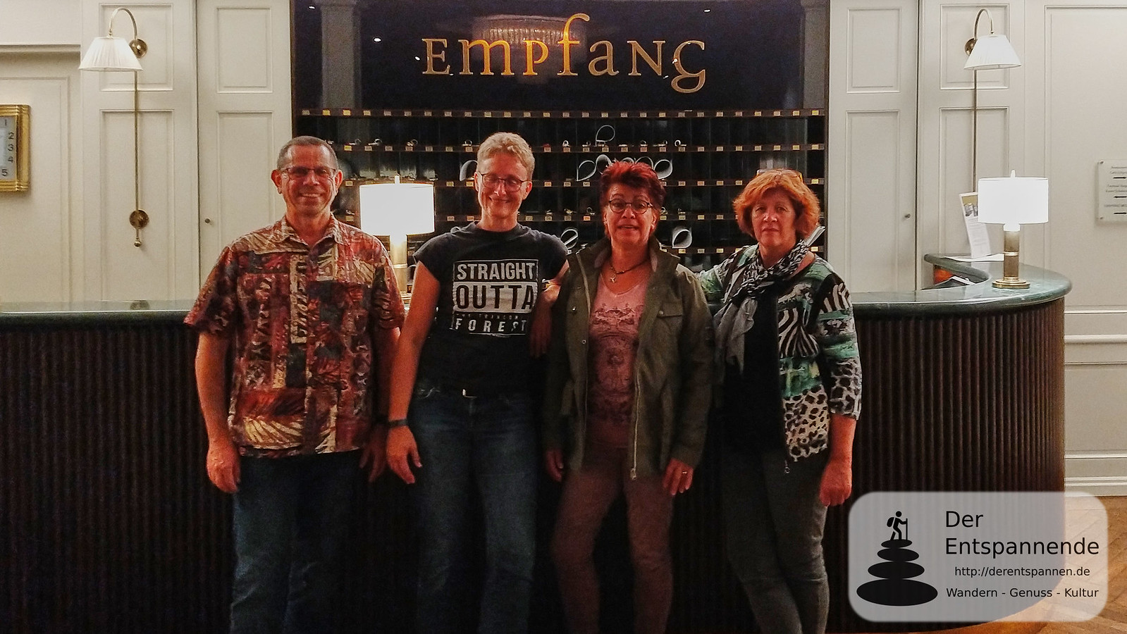 Blogger im Erbprinz: Frank Hamm, Claudia Herr, Anita Becker, Dagmar Seitz