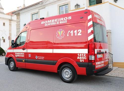 NOVA AMBULANCIA BOMBEIROS SALVATERRA DE MAGOS