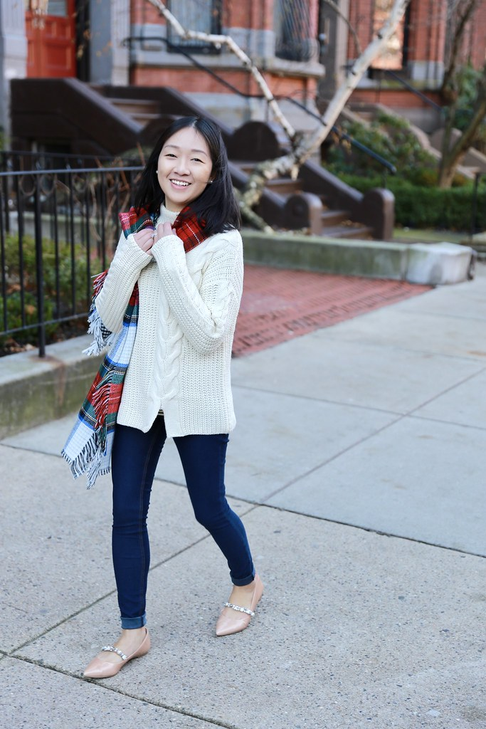 Cozy Holiday Outfit With Walmart