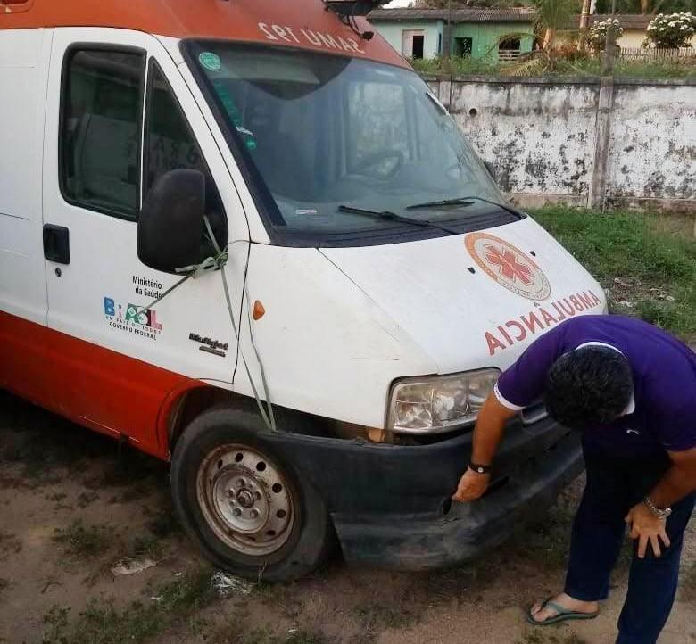 À PF, ex-secretária acusa Alfaia de ter encaminhado ambulância para Goiás; leia o depoimento, ambulancia - Óbidos