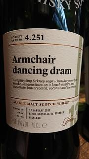 SMWS 4.251 - Armchair dancing dram