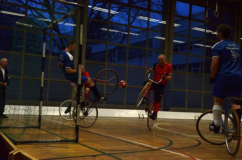 Cycle Ball, 6th division at Sports Hall Ricarda Huch Str. (Cologne)