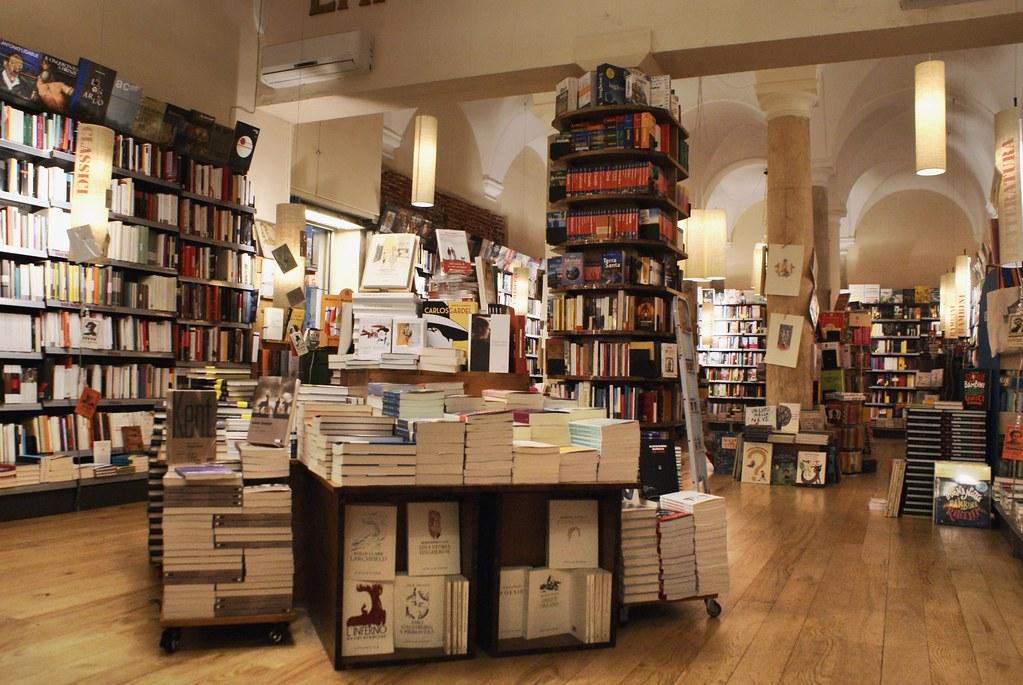 Librairie L'amico Ritrovato Genova à Gênes.