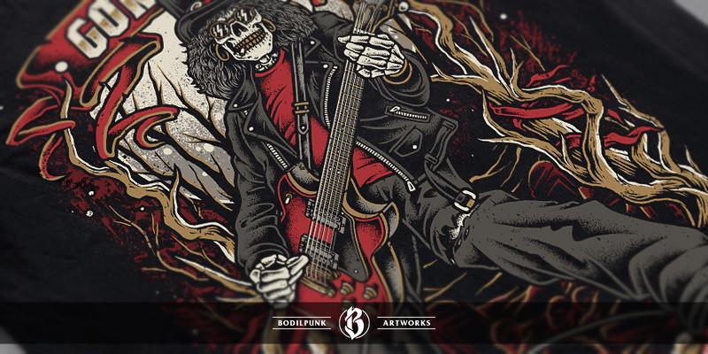 Details - Skull of Rock