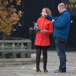 BBC filming at Preston