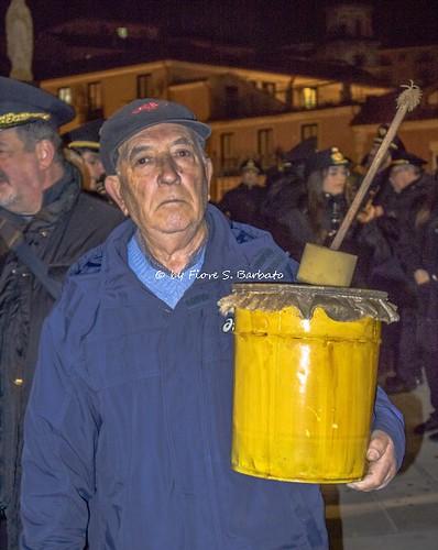 """Campagna (SA), 2019, La festa di Sant'Antonio Abate e i """"Fucanoli"""