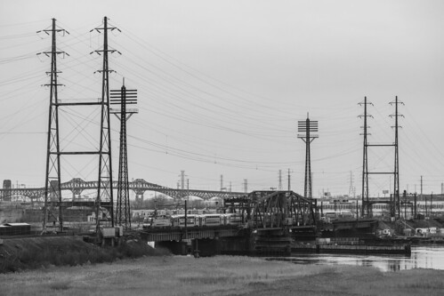 Iconic Bridges of New Jersey's Meadowlands