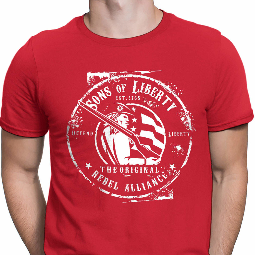 0bcfcd7be ... Sons of Liberty - Original Rebel Alliance : T-Shirt | by Sons of Liberty