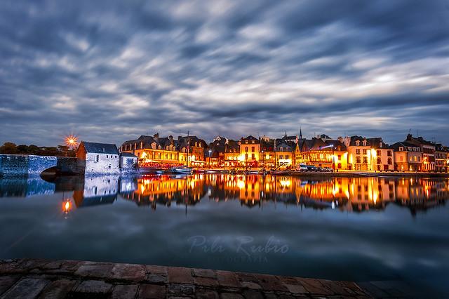 Noche en Port Blanc.