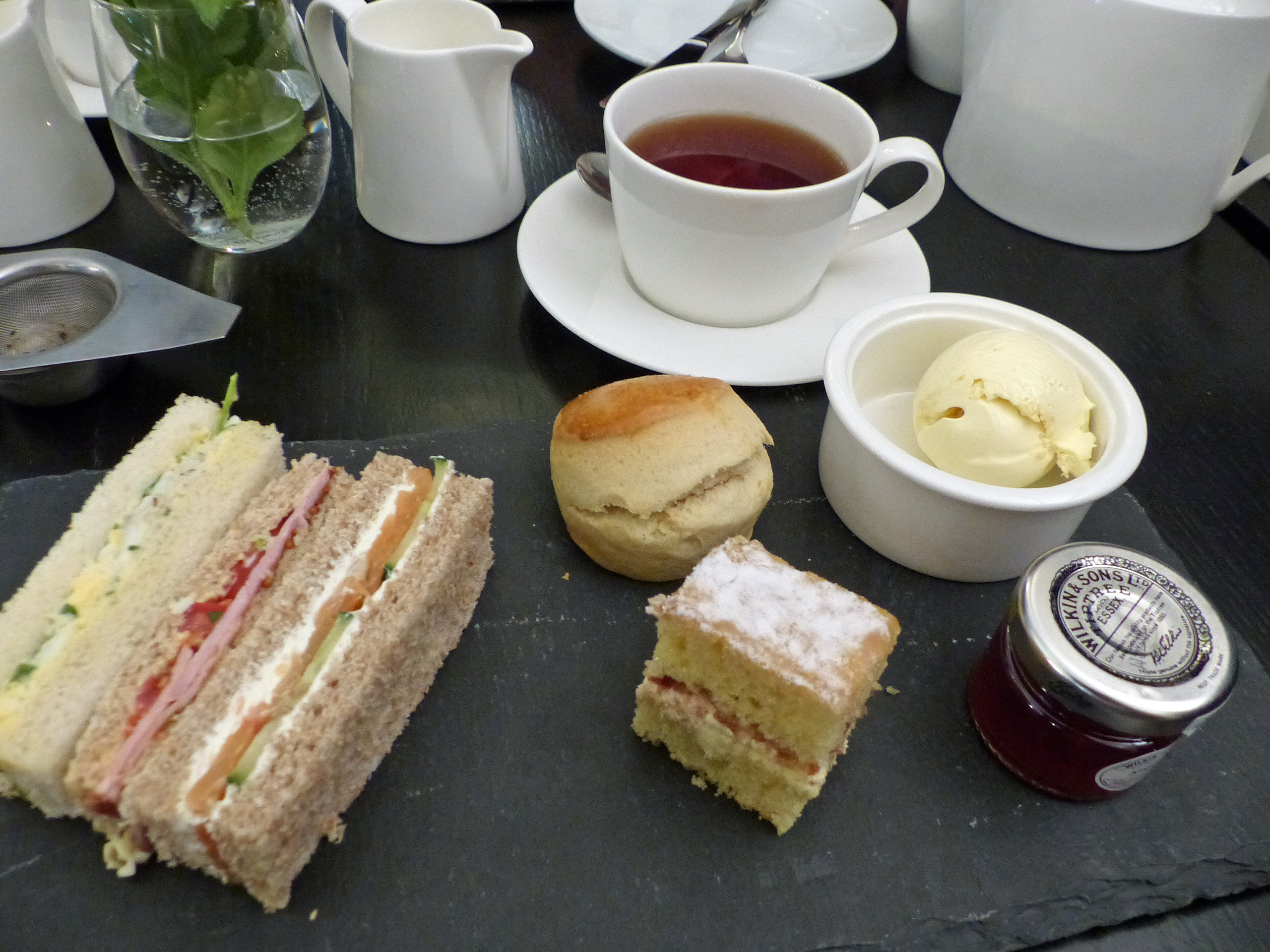 high tea at saint paul's