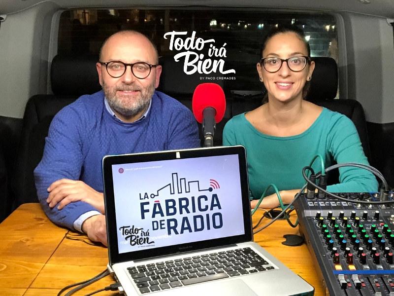 Foto 2018 11 28 Mila Martinez Paco Cremades Todo ira Bien Marketing OnLine La Fabrica de Radio