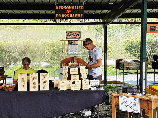 Stall 108 - AgniArt Personalise With Pyrography