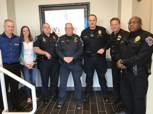 SPD Officers Visit Wilcox Engineering