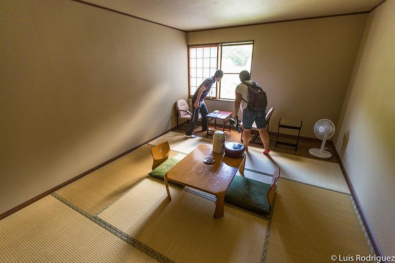Una de las habitaciones de estilo tradicional