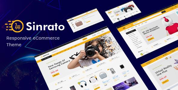 Sinrato v1.0 - Electronics Theme for WooCommerce