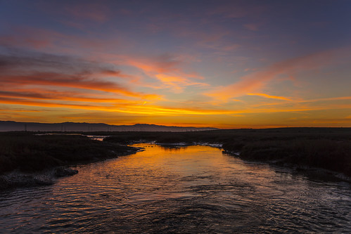 canon5dsr landscape water reflection sunrise dawn clouds sky colour outdoors nature usa california
