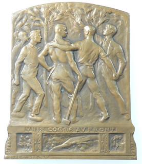 J.L. Blanchot United Front Medal obverse